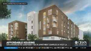 Affordable Housing Complex Coming to West LA [Video]