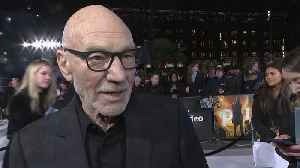 Patrick Stewart On Reprising His Role For 'Star Trek: Picard' [Video]