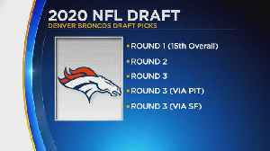 Broncos Will Be Busy In 3rd Round Of The NFL Draft [Video]