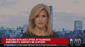 Shelter In Place Lifted At Harvard University; Suspect In Custody [Video]