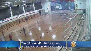 WATCH: Students Run For Their Lives As Microburst Slams Into Elementary School Gym [Video]