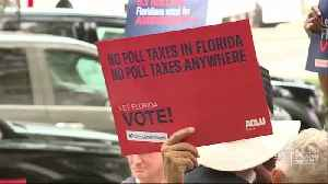 News video: FL Supreme Court: Ex-felons must pay all fines, fees and restitution before voting