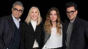Eugene Levy, Catherine O'Hara, Dan Levy & Annie Murphy On The Final Season Of 'Schitt's Creek' [Video]