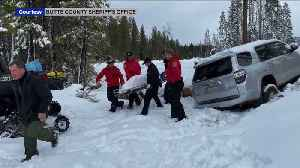 After 6 Days, California Woman Found Alive in SUV Buried in Snow [Video]