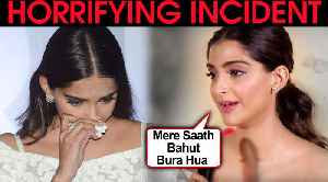 Sonam Kapoor's HORRIFYING Incident In London With TAXI Driver   Reveals DETAILS! [Video]