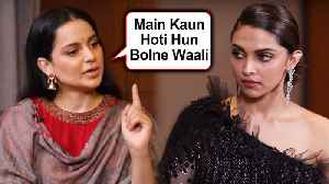 Kangana Ranaut STRONG REACTION On Deepika Padukone's JNU Visit [Video]