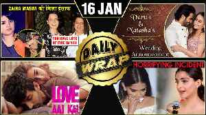 Love Aaj Kal 2 POSTER, Varun Natasha's Wedding Date, Rangoli SUPPORTS Zaira   Top 10 News [Video]