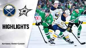 NHL Highlights | Sabres @ Stars 01/16/20 [Video]