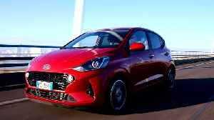The new Hyundai i10 in Dragon Red Preview [Video]