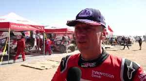 2020 Dakar Rally Stage 8 - Bernhard ten Brinke [Video]
