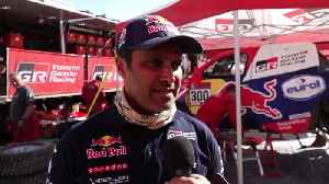 2020 Dakar Rally Stage 8 - Nasser Al-Attiyah [Video]