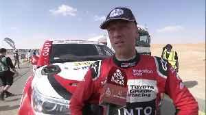2020 Dakar Rally Stage 10 - Bernhard ten Brinke [Video]