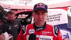 News video: 2020 Dakar Rally Stage 8 - Giniel de Villiers