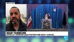 Iran's Supreme Leader leads prayers amid plane crash outrage [Video]