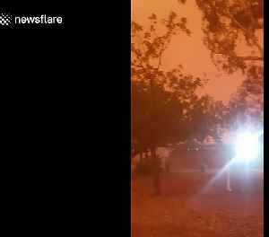 Intense dust storm turns Australian town orange [Video]