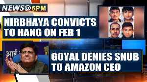 News video: Nirbhaya case: Delhi court issues fresh death warrant to convicts | OneIndia News