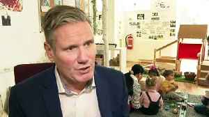 Keir Starmer visits Batley nursery [Video]