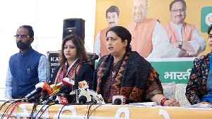 Smriti Irani blames AAP for delay in hanging Nirbhaya case convicts [Video]
