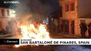 Fire and horses as unique Las Luminarias festival kicks off in Spain [Video]