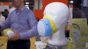 New 'Smart Mask' Is Made For People In Polluted Cities [Video]