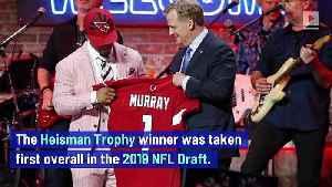 Cardinals Quarterback Kyler Murray Hints at Playing in MLB [Video]