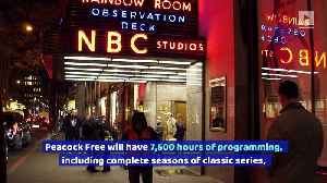 NBC's Peacock Will Have Free Version and Two Paid-Subscription Tiers [Video]