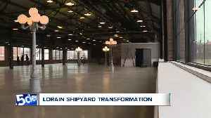 Lorain's shipbuilding history prominently featured in new events center development [Video]
