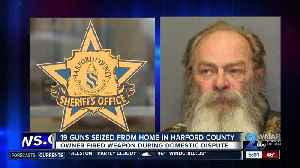 19 guns seized from home in Harford County [Video]
