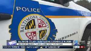 Man killed outside Catonsville apartment [Video]