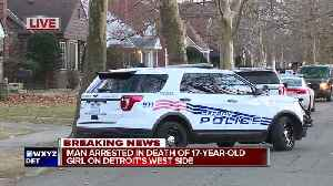 Suspect in custody after 17-year-old female found dead in Detroit basement [Video]
