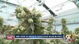 Ohio reaches first year of state medical marijuana sales [Video]