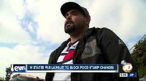 14 states sue to block food stamp changes [Video]
