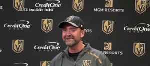 Golden Knights new coach Peter DeBoer [Video]