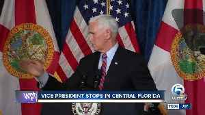 Pence campaigns in Florida [Video]