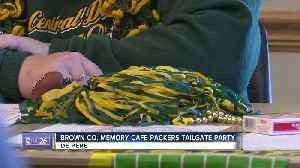Locals share Packers memories at Brown Co. Memory Cafe tailgate party [Video]