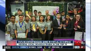 Future entrepreneurs shine in virtual enterprise competition [Video]