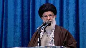 Iran Supreme Leader Delivers Rare Sermon, Defends Military Force [Video]