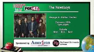 Around Town Kids - Newsboys at the George E. Potter Center - 1/17/20 [Video]