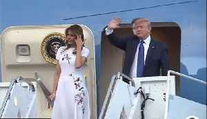 President Trump arrives for fundraiser at Mar-a-Lago [Video]
