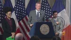 Mayor Bill De Blasio Unveils Preliminary Budget For Next Fiscal Year [Video]