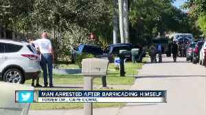Man charged after standoff on Tower Dr. [Video]
