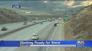 Caltrans Bracing For Grapevine Mess As Storm Arrives In Southern California [Video]