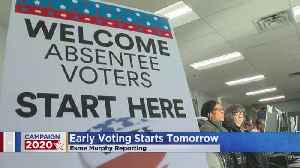 Early Presidential Primary Voting Starts Friday [Video]