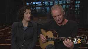 Eye On Entertainment: Grammy Award-Winner Sting Performing In 'The Last Ship' At Ahmnason Theatre [Video]