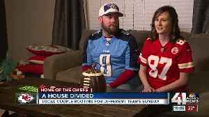 AFC Championship Game means 'a house divided' for Grain Valley couple [Video]