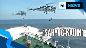 Watch: Coast guards from India & Japan display their might at 'Sahyog-Kaijin' [Video]