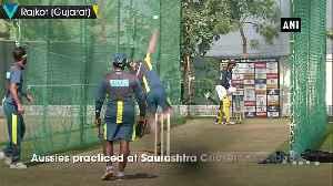 Australia gear up for 2nd ODI in Rajkot [Video]