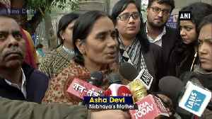 Understood that convicts won't be executed on Jan 22 Nirbhaya mother [Video]
