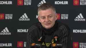 Solskjaer hails United front three [Video]