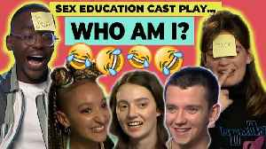 Digital Spy play 'WHO AM I?' with the Sex Education cast! Ncuti Gatwa, Asa Butterfield & Emma Mackey [Video]